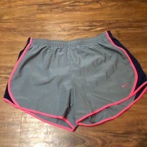 Girls XL Nike running shorts